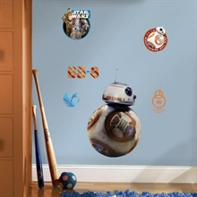 Star Wars: The Force Awakens BB-8 Giant Wall Decals