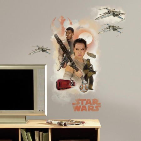 Star Wars: The Force Awakens Hero Giant Wall Graphic