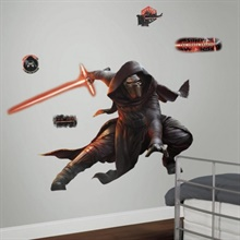 Star Wars: The Force Awakens Kylo Ren Giant Wall Decals With Glow