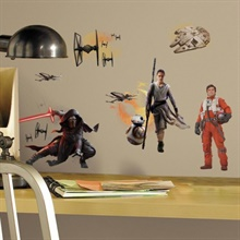 Star Wars: The Force Awakens Peel and Stick Wall Decals