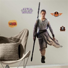 Star Wars: The Force Awakens Rey Giant Wall Decals