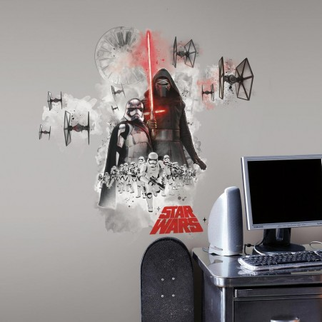 Star Wars: The Force Awakens Villain Giant Wall Graphic