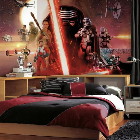 Star Wars: The Force Awakens Wallpaper Mural 10.5 X 6