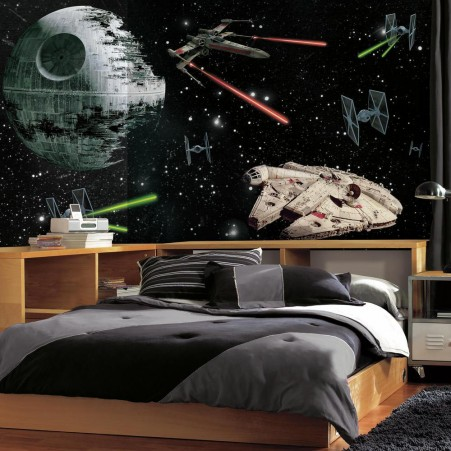 Star Wars Vehicles XL Wallpaper Mural 10.5' X 6'