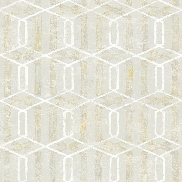 2809 Sh01068 Stormi Beige Geometric Wallpaper Boulevard
