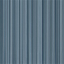 Stria Blue Stripe Wallpaper