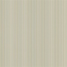 Stria Grey Stripe Wallpaper