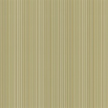 Stria Taupe Stripe Wallpaper