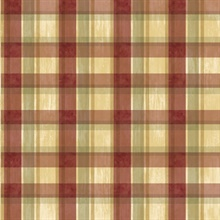 Sunday Red Tartan Wallpaper