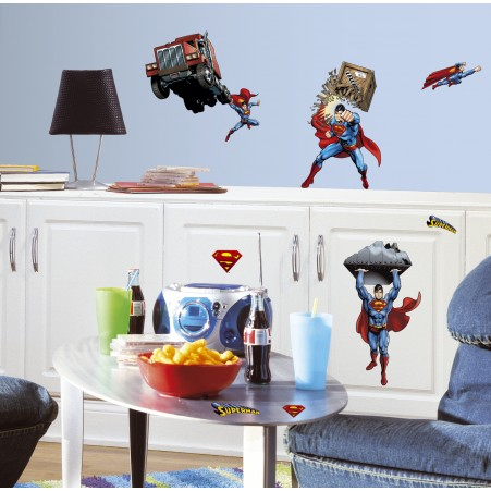 Superman: Day Of Doom Wall Decals