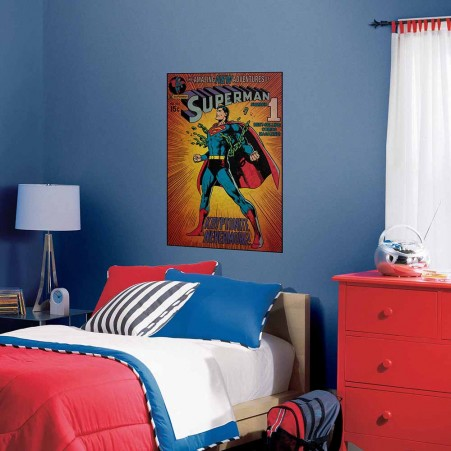 "Supermanâ""¢ Kryptonite Comic Cover Giant Wall Decal"