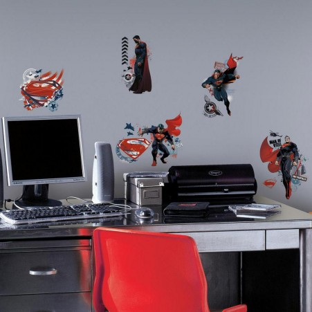 "Supermanâ""¢: Man of Steel Wall Decals"