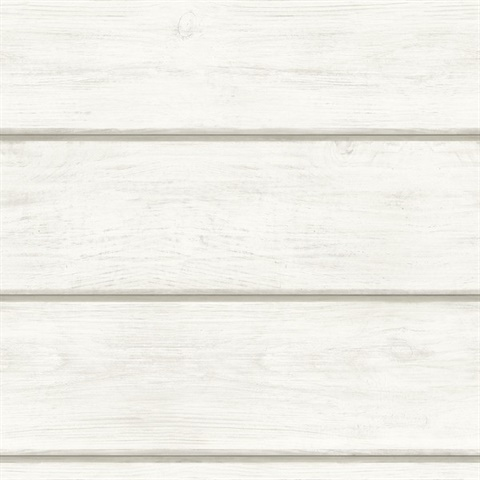 Susanna Off White Wood Planks