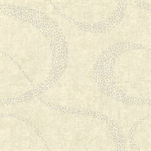 Swirl Beige Scroll Geometric
