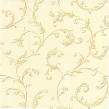 Sylvia Cream Ornate Scroll