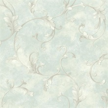 Sylvia Lavender Distressed Texture Wallpaper