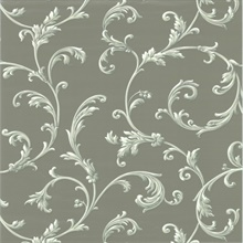 Sylvia Silver Ornate Scroll