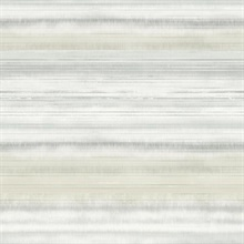 Tan Fleeting Horizon Horizontal Stripe Wallpaper