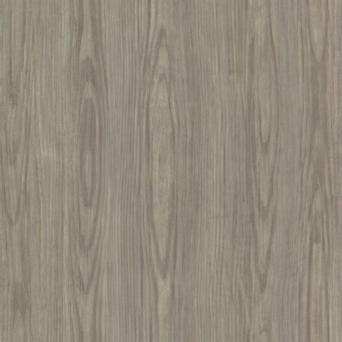 Hzn43056 Tanice Brown Faux Wood Texture Wallpaper