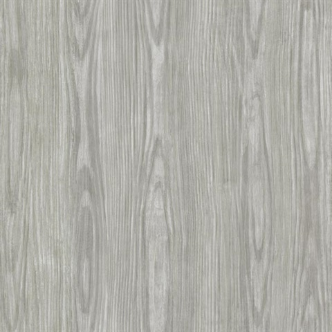 Hzn43055 Tanice Grey Faux Wood Texture Wallpaper Boulevard
