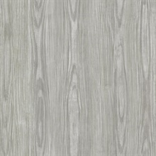 Tanice Grey Faux Wood Texture