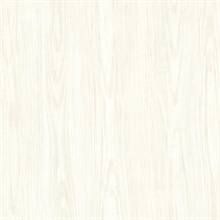 Tanice Ivory Faux Wood Texture