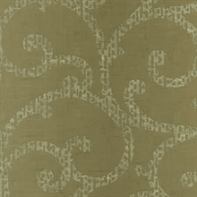 Taupe Davino Scroll