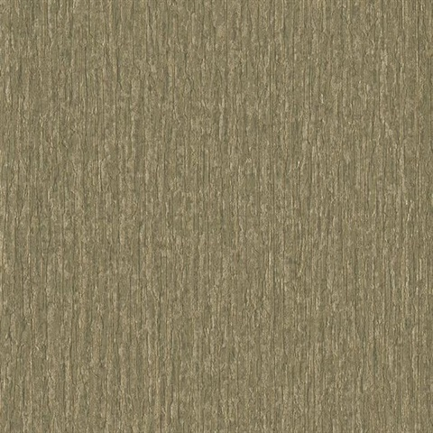 Taupe Faux Birch Tree Bark Textured Wallpaper
