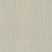 Taupe Vertical Plumb Wallpaper