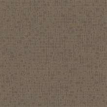 Taupe Wires Crossed Geometric Textured Wallpaper