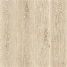 Taupe Wood Plank Wallpaper (20 Oz Type II Fabric Backed Vinyl)