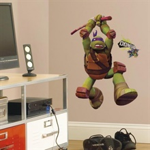 Teenage Mutant Ninja Turtles Donatello Giant Wall Decal