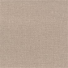 Terra Taupe Woven Texture Wallpaper
