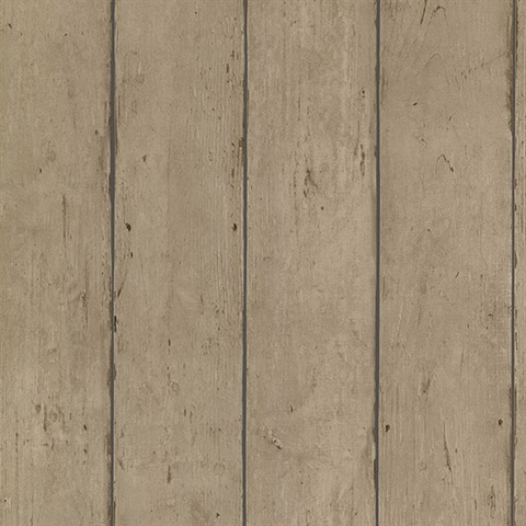 Teton Light Brown Wood Plank