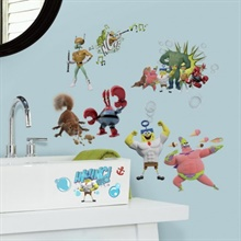 The SpongeBob Movie: Sponge Out of Water Wall Decals