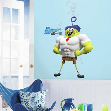 The SpongeBob Movie: Sponge Out of Water Character Giant Wall Decals