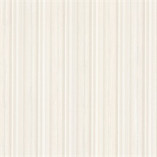 Tiberio White Silk Stripe