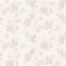 Tiffany Pastel Satin Floral Trail
