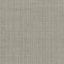 Tiki Grey Faux Grasscloth