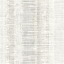 Tikki Faux Vertical Weathered Stripe Light Grey Wallpaper