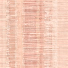 Tikki Faux Vertical Weathered Stripe Pink Wallpaper