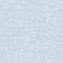 Tiverton Sky Blue Faux Grasscloth Wallpaper