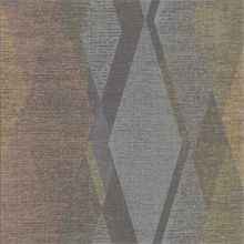 Torrance Multicolor Distressed Geometric Wallpaper