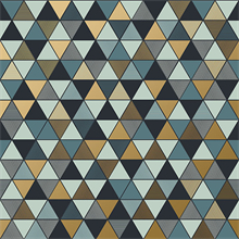 Triangular Multicolor Geometric Wallpaper