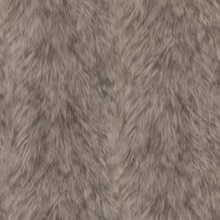 Trieste Taupe Wolf Wallpaper