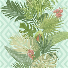 Tropical Oasis Stripe
