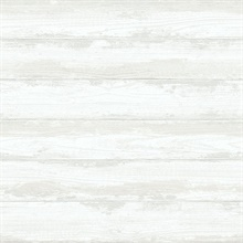 Truro Bone Weathered Wood Boards Wallpaper