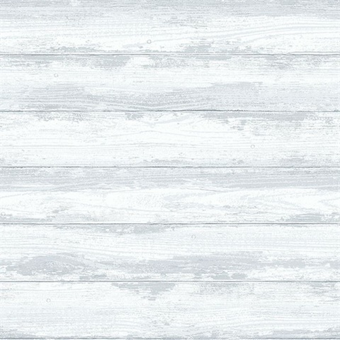 Truro Grey Weathered Wood Boards Wallpaper