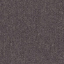 Tweed Black Faux Fabric Wallpaper