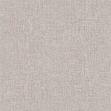 Tweed Grey Faux Fabric Wallpaper